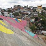 Pintura Mais Vida nos Morros. Foto: Marcos Pastich